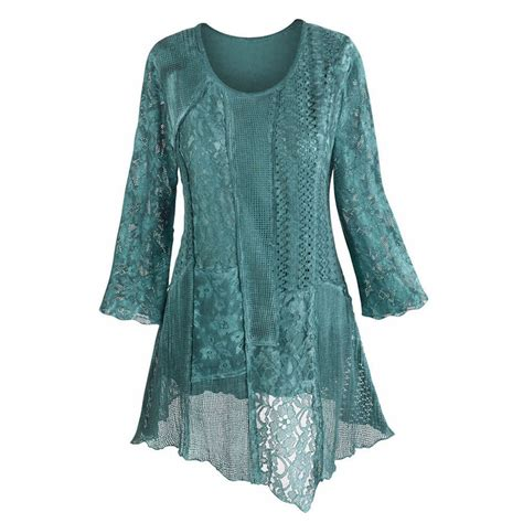 Nyno Tunic Tunik Top Blouse Hq s tunic top layers of teal asymmetrical cotton blouse ebay