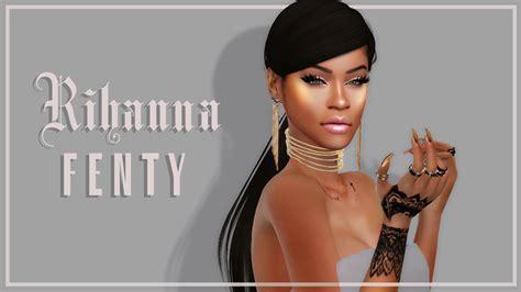 Fienty Rihanna 4 The Sims 4 I Rihanna Fenty Inspired Katverse