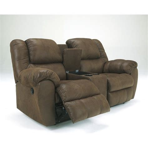 ashley dual reclining sofa ashley furniture quarterback double reclining loveseat in