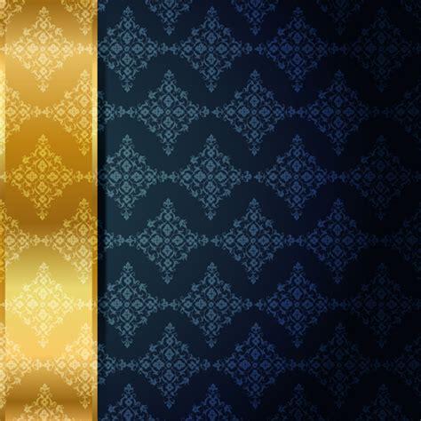 Kaos 3d Elengant Murah Go Logo Navy ornate vip gold background vector 03 free