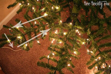 Tips For Putting Lights On A Tree Go