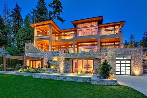 Luxury Homes In Bellevue Wa Wonderful Lakeside Home In Bellevue Washington