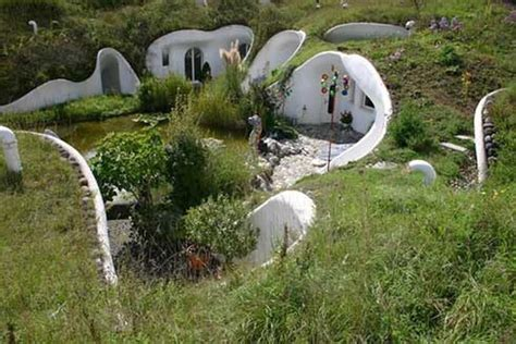 underground houses hobbit homes are real underground home plans