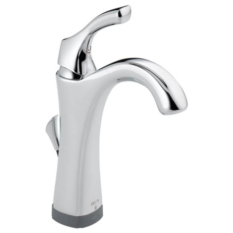 single handle bathroom faucet with touch2o xt 174 technology