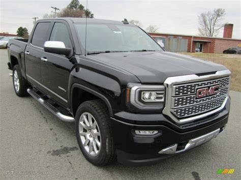 2016 onyx black gmc 1500 denali crew cab 4wd 110220998 gtcarlot car color galleries