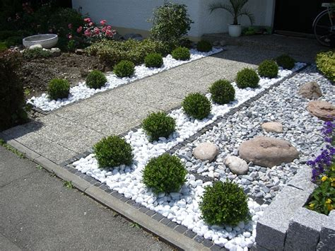 gartengestaltung ideen vorgarten vorgarten garten