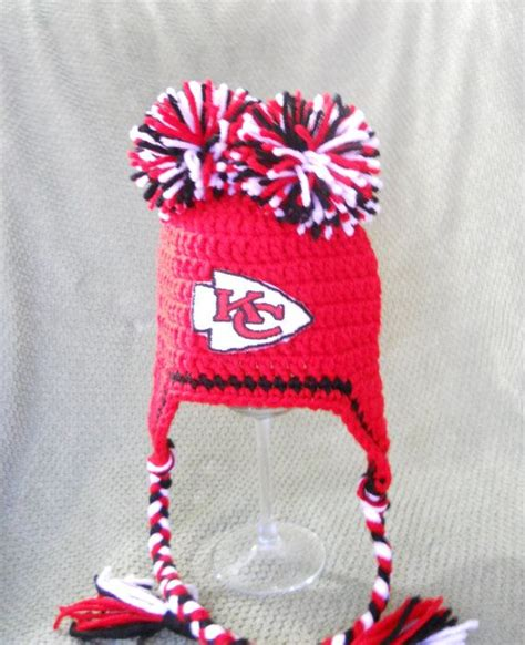 crochet pattern kansas city chiefs afghan kansas city chiefs football inspired lil cheerleader by