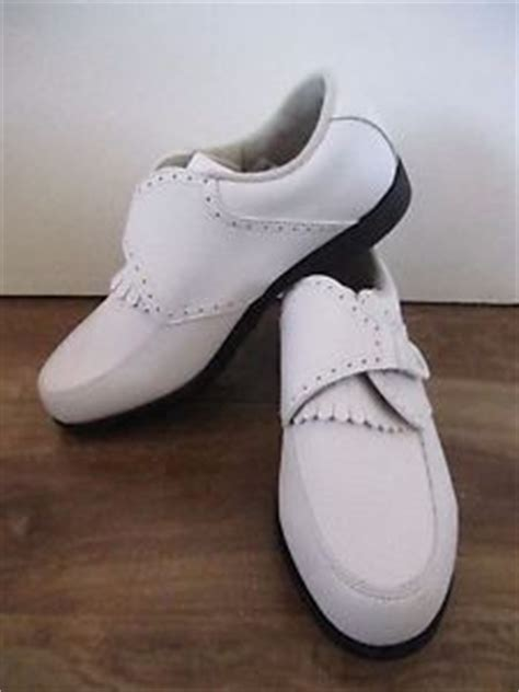footjoy womens golf shoes 7 5 wide greenjoys spikeless