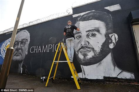 Leicester City S Premier League Title Heroes Immortalised