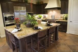 Dark Wood Kitchen Ideas Dark Wood Kitchen Cabinets Decorating Tips Whole Home