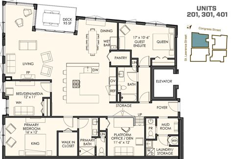 floor plan for four different floor plans 118onmunjoyhill 118onmunjoyhill