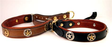 custom leather collars leather collars
