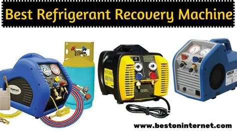 What Is A Refrigerant Recovery Machine by Best Refrigerant Recovery Machine