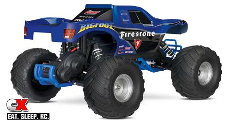 bigfoot 3 monster truck traxxas bigfoot 2wd monster truck