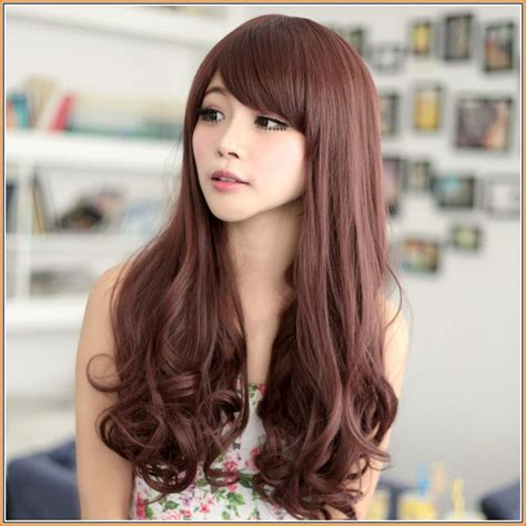 hair colors for asian asian orange brown hair color jpg 645 215 645 hairgoals