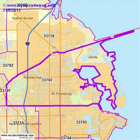 zip code map st petersburg fl zip code map of 33702 demographic profile residential
