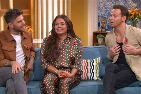 what is im a celebrity extra c joe swash reveals sadness at leaving girlfriend stacey