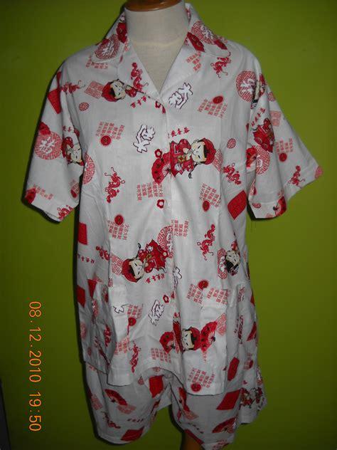 Baju Tidur Sorella 1 baju tidur 171 mikala batik