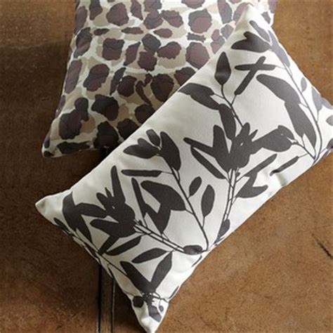 West Elm Outdoor Pillows by Outdoor Bamboo Leaf Pillow Modern Outdoor Cushions And