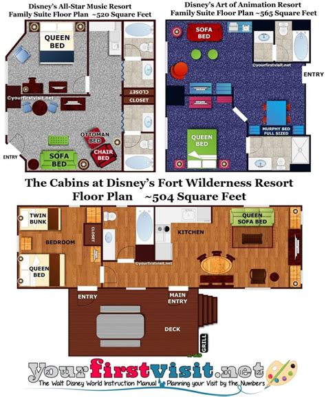 Disney World All Family Suite Floor Plan - review the family suites at disney s all resort