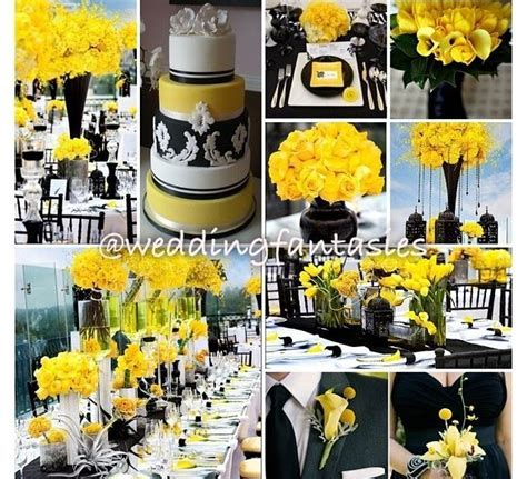 284 best Black & yellow weddings/reception images on