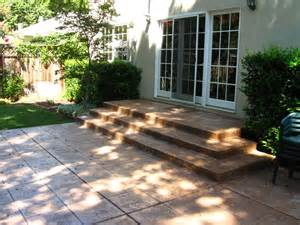 Poured Concrete Patio Designs Pin By Debra Parks On Garden Ideas