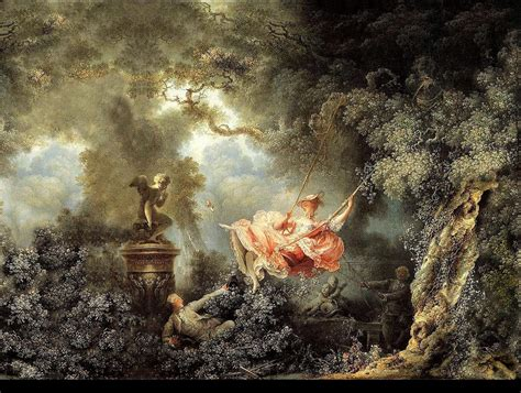 rococo the swing jean honor 233 fragonard the swing reinterpretart