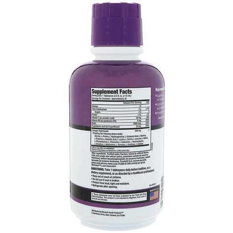 Collagen Complex rejuvicare collagen formula liquid collagen