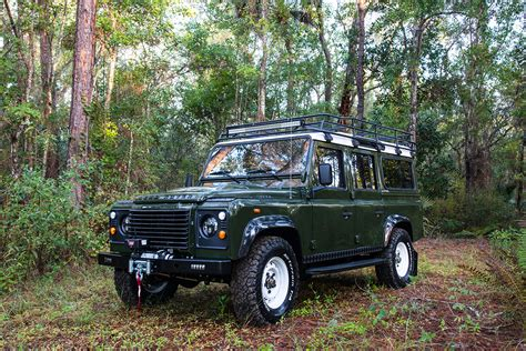 vintage land rover defender meet the brand turning old land rovers into masterpieces