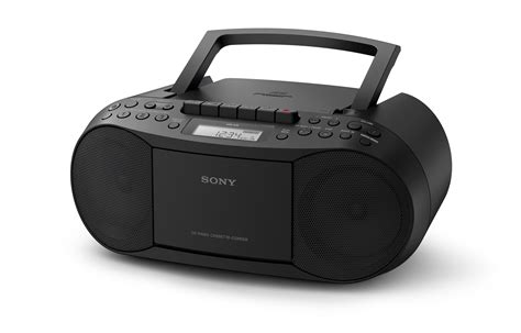 cd and cassette player sony cfds70b cek classic cd and boombox with radio