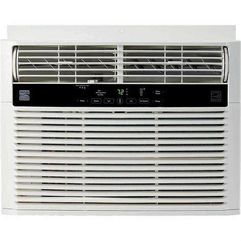 kenmore elite 76080 8000 btu 115v window mounted mini compact air conditioner white