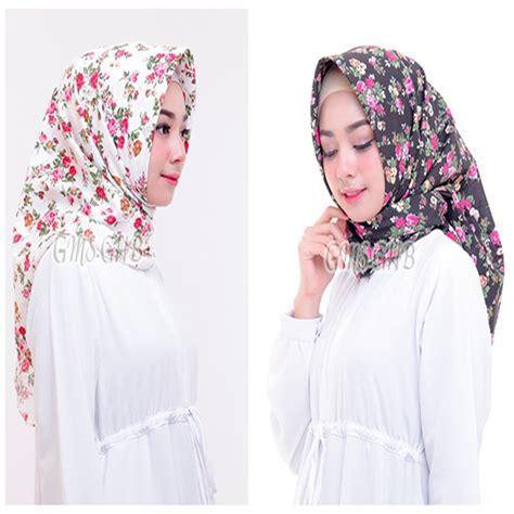 hijab segi empat shabby chic praktis simple modern