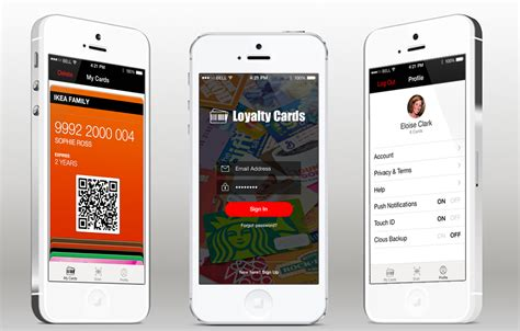 ios card template loyalty ios app template