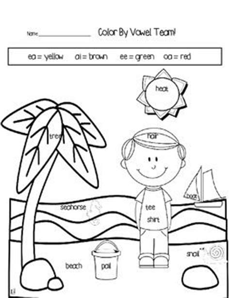 coloring pages for vowels activities team pictures and ea on pinterest