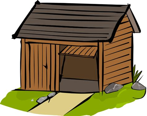 garage cartoon shed clip art at clker com vector clip art online