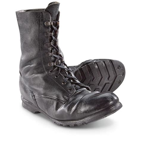 Kickers Boots Army surplus combat boots used 660565 combat