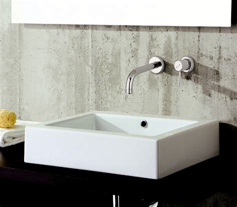 rubinetti a muro per bagno miscelatore per lavabo a 2 fori a muro futuro