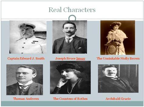 titanic film vs reality titanic fictional characters titanic real vs fiction