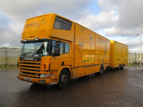 scania second trucks scania scania p94 310 box vans used second