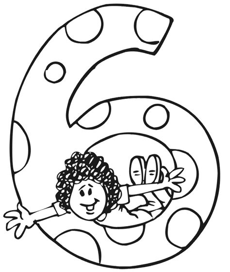 coloring page birthday girl birthday coloring page a girl jumping through a 6