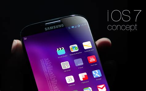 ios theme for android ios7 tema concepto hd pack theme de ios para android apk