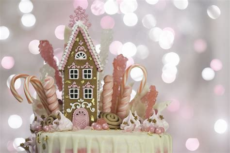 House Beautiful Magazine Subscription Pink Gingerbread Drip Cake Cakecentral Com