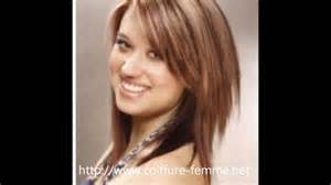 coiffure femme rond les tendances coupe de
