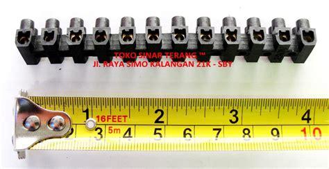 Misik Hitam 6 Ml jual terminal kabel listrik 6 ml 6a hitam panjang 380v