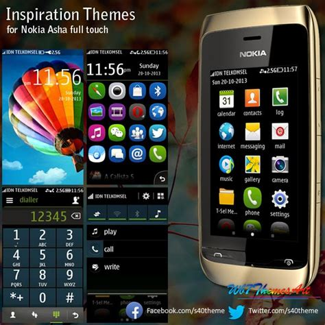 nokia asha all themes inspiration themes asha full touch asha 311 asha 305