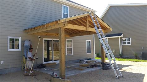 Patio Construction Ideas by Covered Patio Construction Wilmington Nc