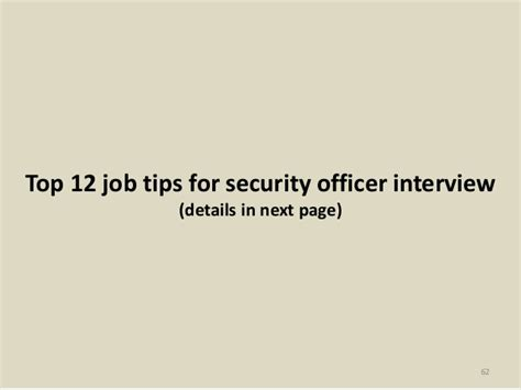top 52 security officer questions and answers pdf