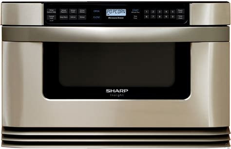 Sharp Microwave Drawer Kb6524ps by Sharp Kb6021ms 24 Quot Microwave Drawer With 1 0 Cubic Ft