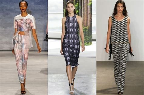 spring 2015 looks for older women quot i spy quot prints top trends from new york fashion week