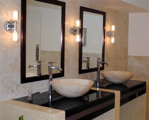 commercial mirrors for bathrooms modern mirrors modern bathroom miami by cmf custom